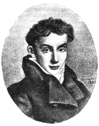 Портрет В. А. Жуковского, подаренный А. С. Пушкину в 1820 году. С рисунка Е. Эстеррейха